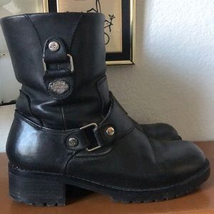 Harley-Davidson Women's Motorcycle Boots 8